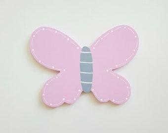 Schmetterling Holzmotiv Kinderzimmer