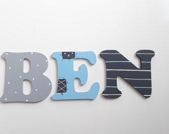 Holzbuchstaben Türschild, Kinderzimmer, Buchstaben, letters