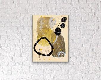 Canvas & Paper Nordic Abstrat Art III