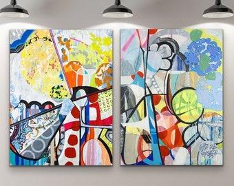 Canvas & Paper Large Art Roll set of 2 - Escombros