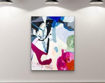 Canvas & Paper Large Art Roll VI