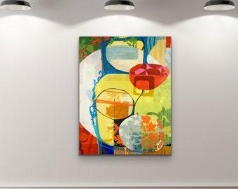 Canvas & Paper Large Art Roll XIX
