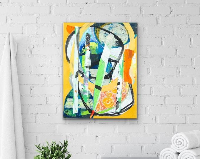 Canvas & Paper Simple Color IV