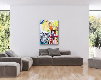 Cavas & Paper Abstrac Full Color IV