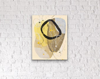 Canvas & Paper Nordic Abstract Art IV