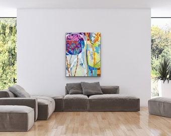 Canvas & Paper Abstrac Full Color I
