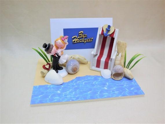 Strand Hochzeits Karte Geldgeschenk Hochzeit Etsy