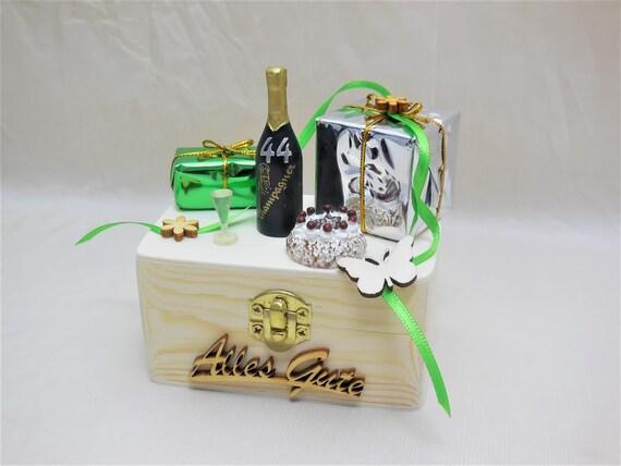 Mini Geschenkbox 40 50 60 Geburtstag Alle Zahlen Etsy