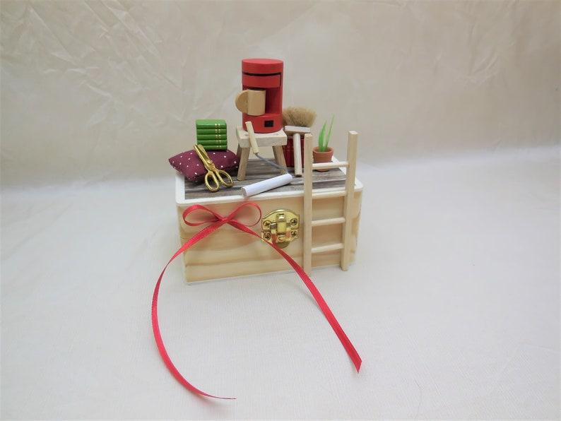 Mini Holzbox Umzug Geschenkbox Geldgeschenk Einzug   Etsy