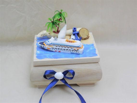 Mini Box Holz Kreuzfahrt Geldgeschenk Geschenkbox Etsy