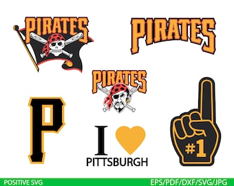 Pirates Svg Pittsburgh Clipart Baseball Vector Files Png Dxf Eps