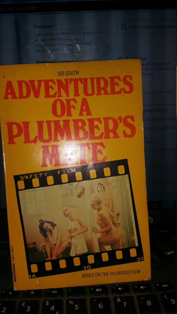 Adventures Of A Plumbers Mate Vintage Paper Back Book