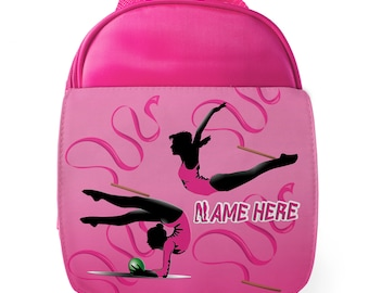 DANCE BAG NAMED GIFT FOR A CHILD PE SWIMMING GUINEA PIG PERSONALISED GYM