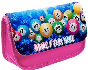 Clutch Bag Personalised Bingo Pen Carry Bag Ideal for Daubers and Glasses
