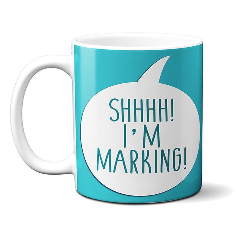 Personalised keep calm great teacher gift mug coaster end of term leaving school