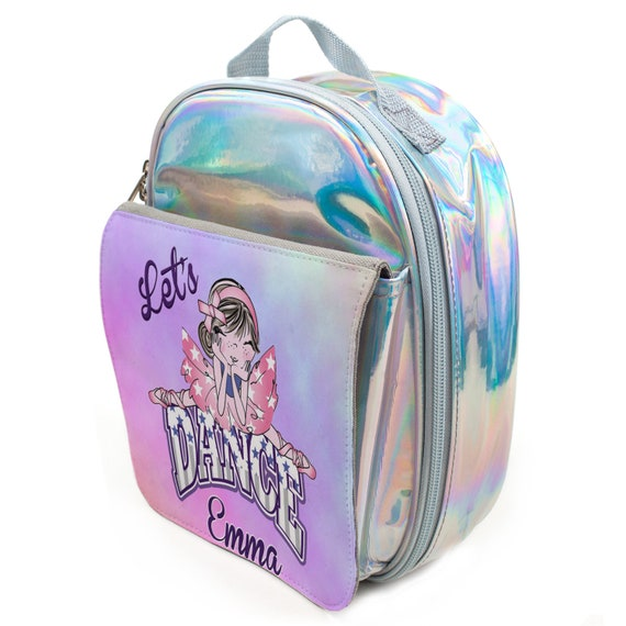 Personalised Girls Pencil Case BALLERINA DANCE School Stationary Pink KS156