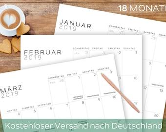More wall calendar | Etsy