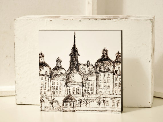 """Picture-Dresden """"Schloss Moritzburg"""""""