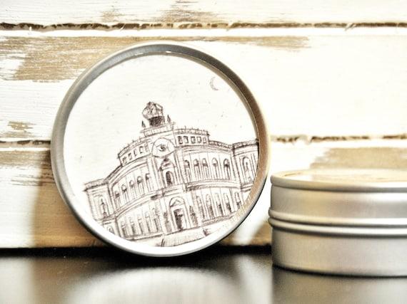 """Metal can around 5 cm Ø-Dresden """"Semperoper"""""""