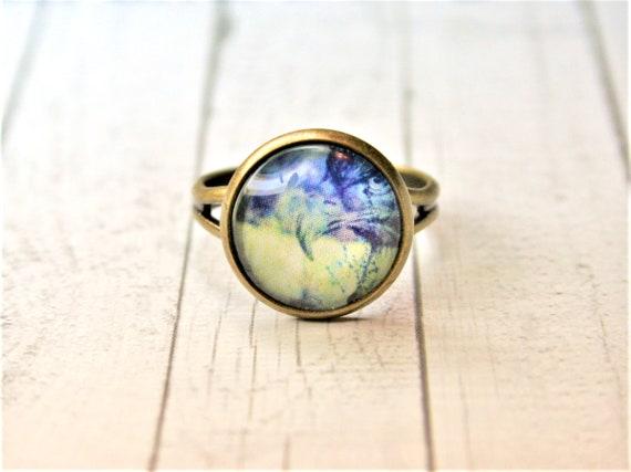 "Ring bronze-daydreamer ""Eagle"""