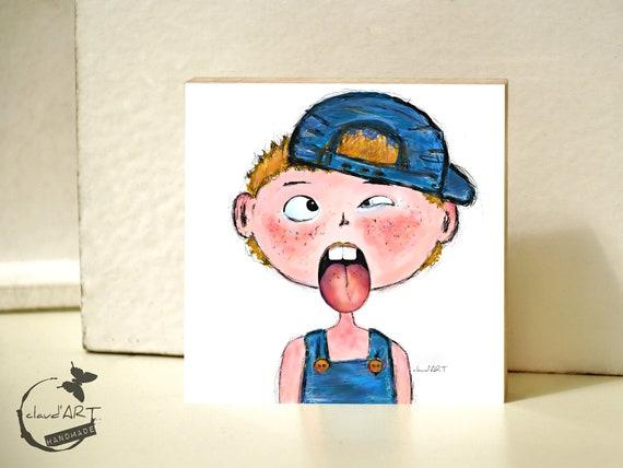 """Frame 10 x 10 cm-""""Ben"""" Püppi's"""