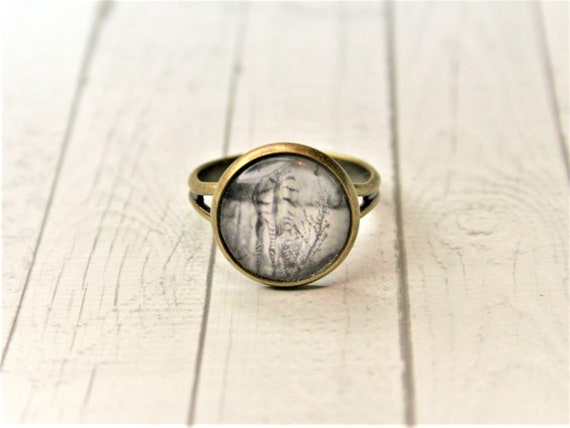 "Ring bronze-daydreamer ""Zebra"""