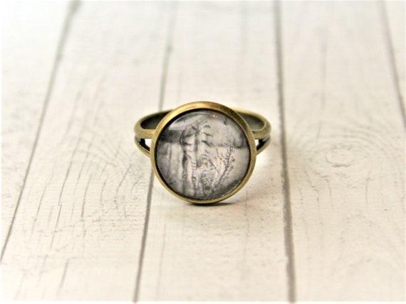 "Ring bronze-daydreamer ""Zebra"""