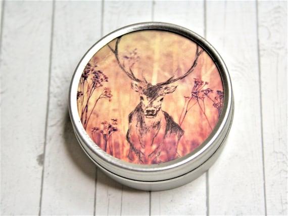 """Jewelry box 5 cm-daydreamer """"deer"""""""