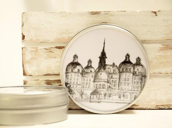 """Jewellery Box 5 cm Ø-Dresden """"Schloss Moritzburg"""""""