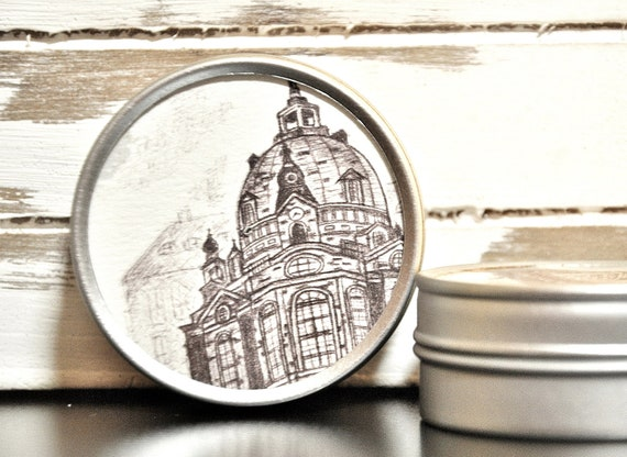"Metal can around 5 cm - Dresden ""Frauenkirche"""