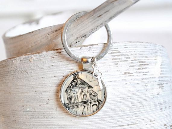 """Key fob-Dresden """"Schloss Wackerbarth"""""""