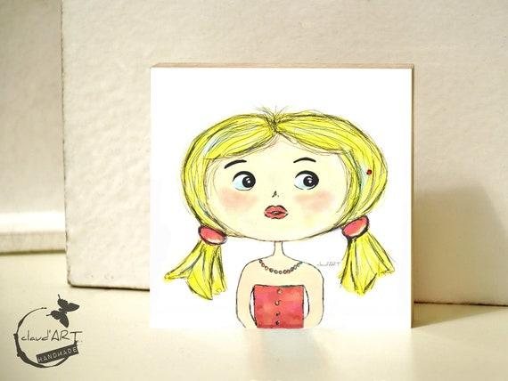 """Frame 10 x 10 cm-""""Mira"""" Püppi's"""