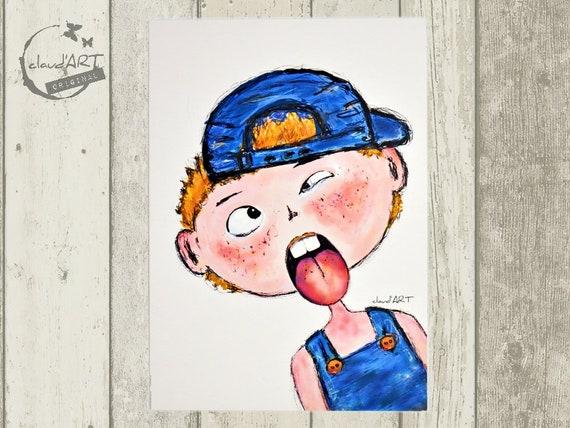 "Postcard 10 x 15 cm-""Ben"" Püppi's"