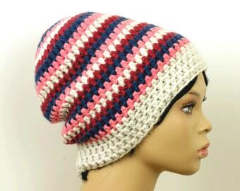 64f7fd4bfcc Beanie hat striped