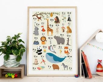Abc Weihnachtskarten.Illustrierte Kinderposter Postkarten Kalender Mehr By Sandylohss