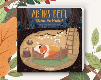 Off to bed, little animal children - Good night story / Reading book / Forest animals