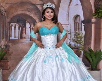 acfbf0d2729 Charra Quinceanera Dress  10161AQ