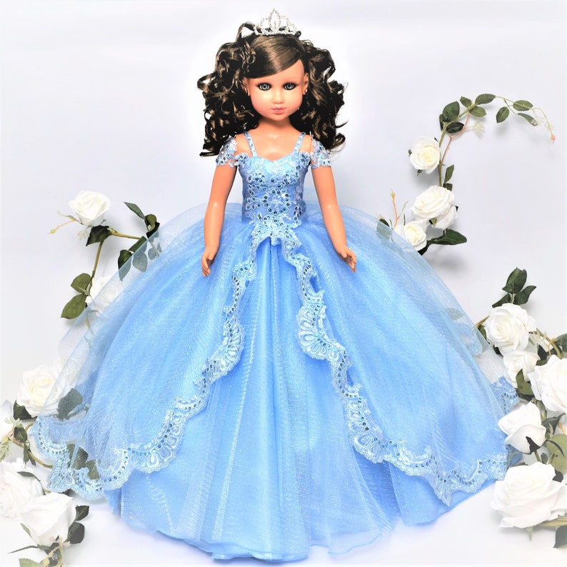 7989cdbbaf8 20 Blue Color Quinceanera Last Doll Ultima Muneca