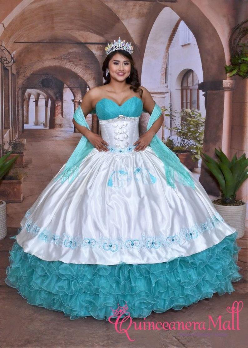 83900853e2f Charra Quinceanera Dress 10161AQ