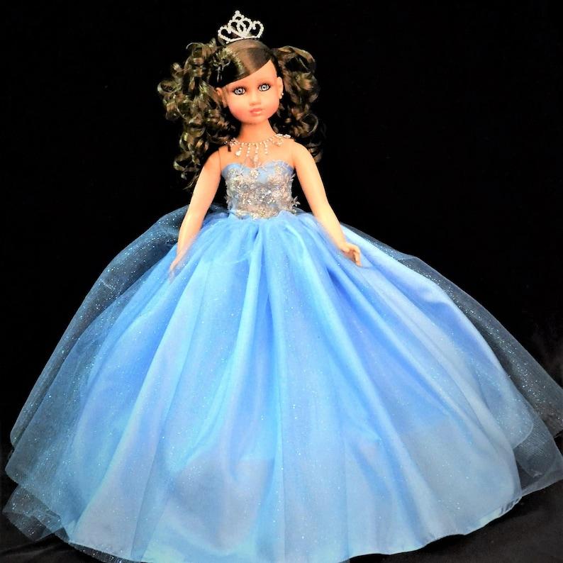 cf56899a1b4 20 Light Blue Last Quinceanera Doll or Ultima Muneca