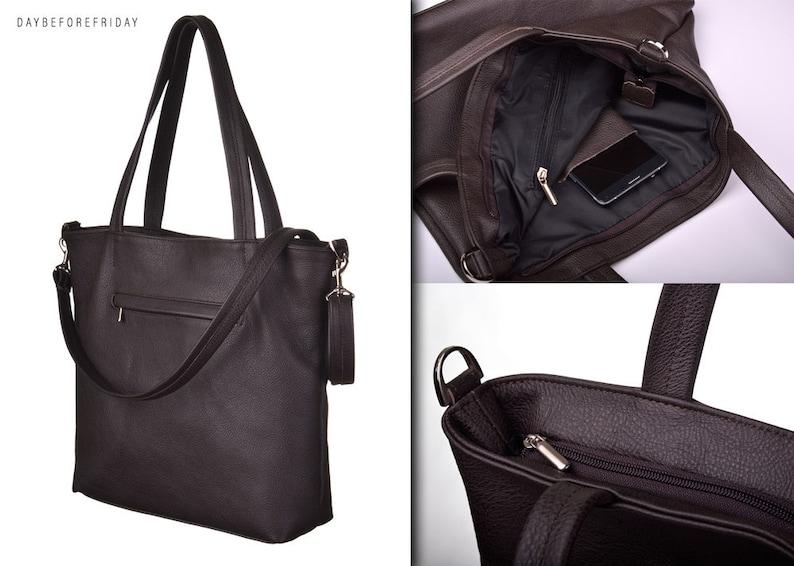 191244ef630 CORATO brown handbags natural leather outer pocket long belt shopper bag  crossbody adjustable belt italian leder handbags