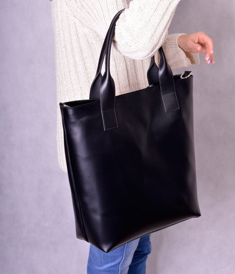 a3cfbeeba6cd0 Fashion woman tote LIVORNO natural genuine leather smooth   Etsy