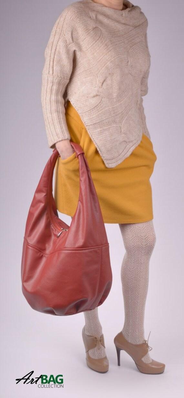 c3ec5aff0176 Black leather hobo bag red leather tote black shoulder bag