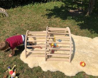 Dawanda Kletterdreieck : Kletterdreieck nach art pikler extragroß etsy