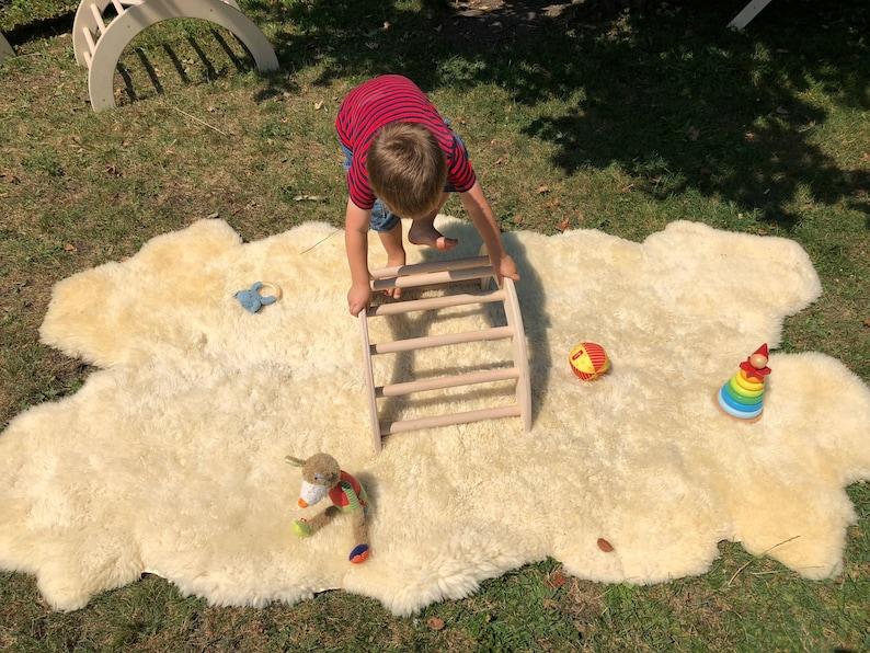 Kletterbogen Outdoor : Kletterbogen bogenleiter pikler art klein einzeln etsy