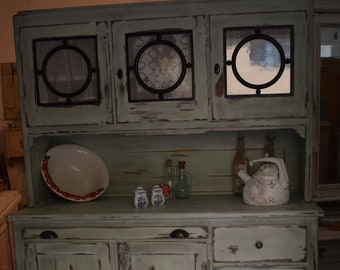 Shabby Chic/Country House Kitchen Buffet/Buffet/Showcase