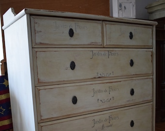 Shabby Chic/Country house chest of drawers/Cabinet/Cabinet/Drawer