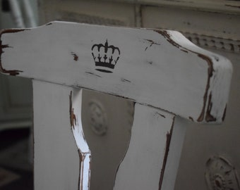 Shabby-Chic/Country House/Vintage Chair/Kitchen Chair/Farmer's Chair