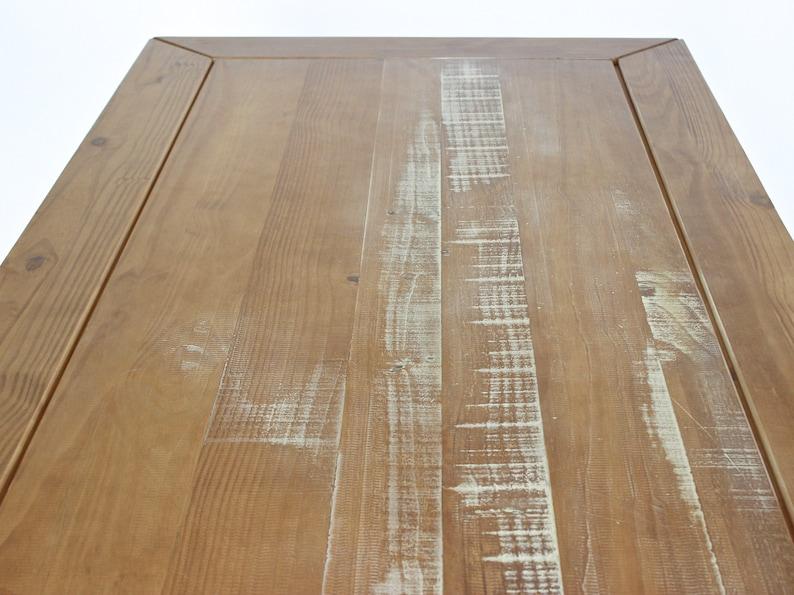 Esstisch massiv Landhaus Angra 180 x 90 cm Landhaustisch aus
