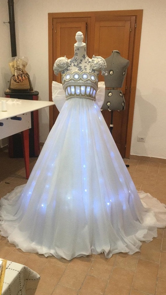 Sailor Moon Princess Serenity Inspired Wedding Dress Etsy